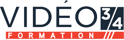 logo vidéo 3/4 formation
